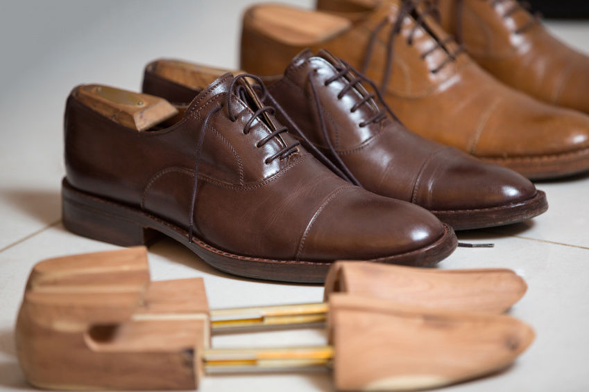 نگهداری از کفش های چرمی