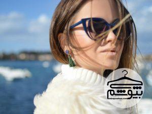 فرم صورت و خرید عینک آفتابی
