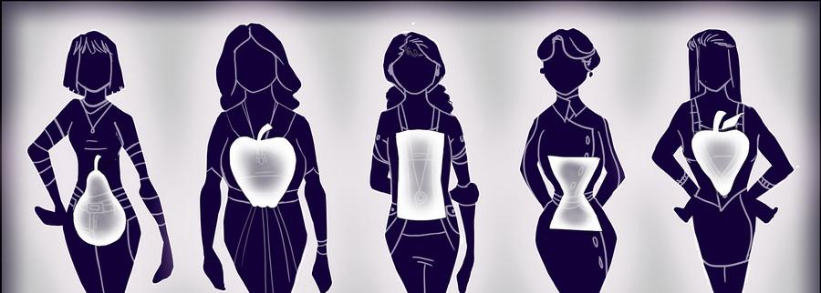 راهنمای انتخاب لباس با توجه به فرم اندام