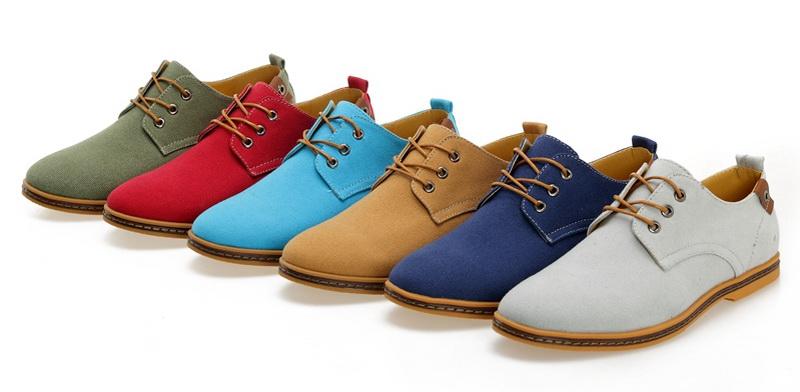 راهنمای انتخاب رنگ کفش مردانه