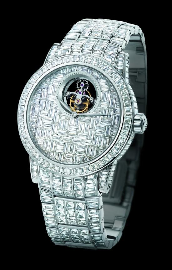 ساعت مچی 1،800،000 دلاری Blancpain Tourbillon Diamants