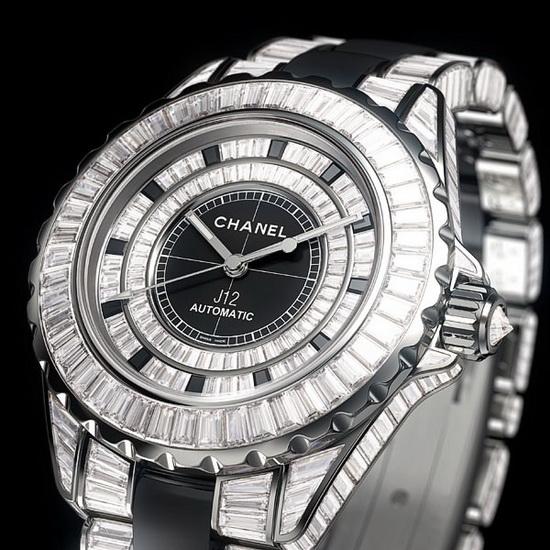 ساعت مچی 700،000 دلاری Chanel J12 Haute Joaillerie