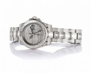 ده ساعت مچی ساخته شده از الماس