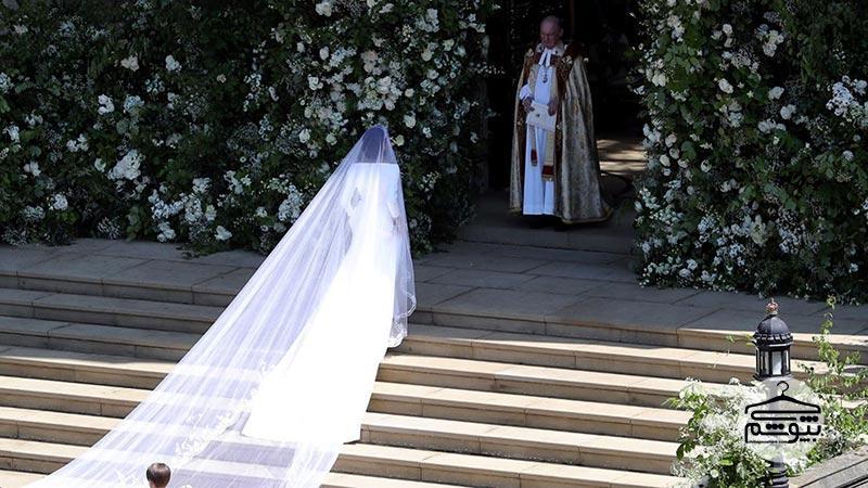 برند ژیوانشی و طراحی لباس عروس مگان مارکل