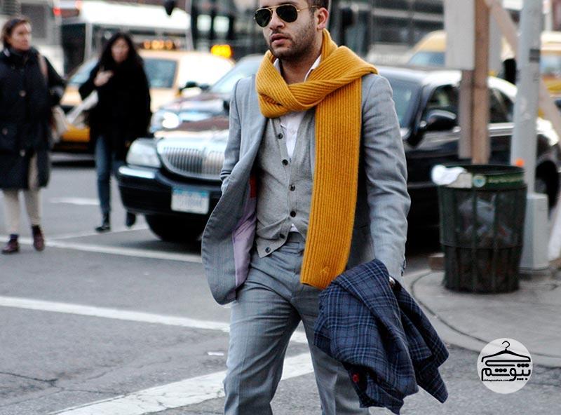 چرا باید یک شال گردن مردانه در کمد لباسمان داشته باشیم؟