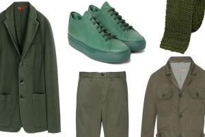 ست کردن لباس های سبز رنگ در عید نوروز