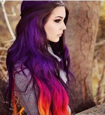 نکته ای برای بانوانی که موی خود را رنگ کرده اند