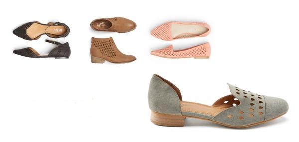 کفش زنانه بهاره سوراخ دار