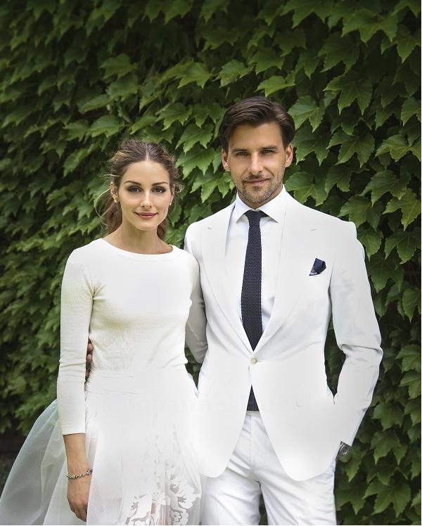 Olivia Palermo marries Johannes Huebl, 2014