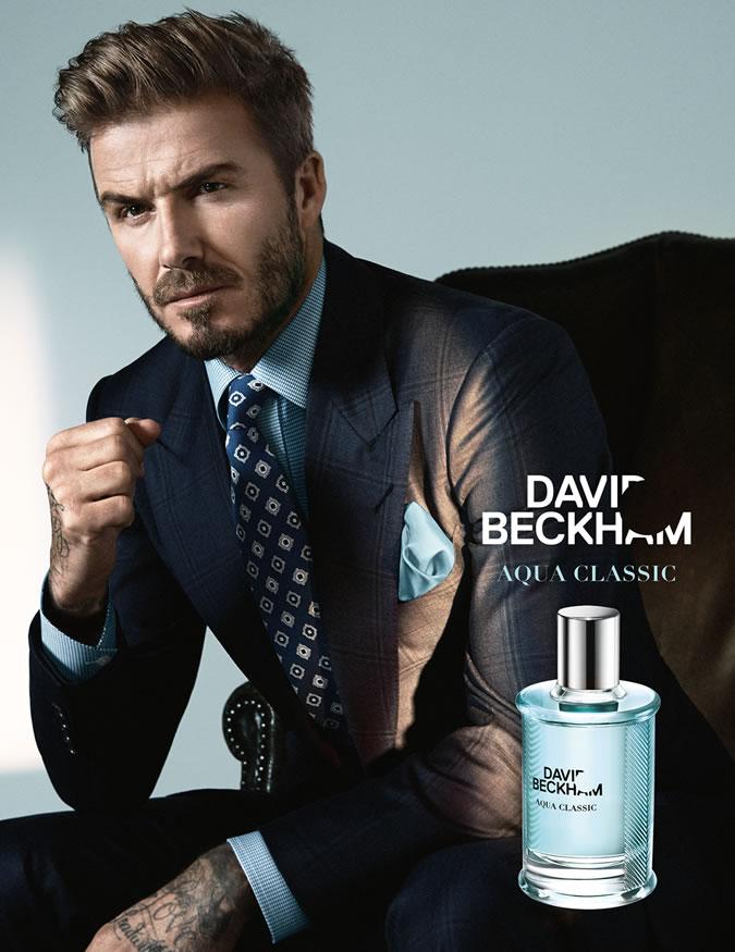 عطر جدید دیوید بکهام به نام Aqua Classic