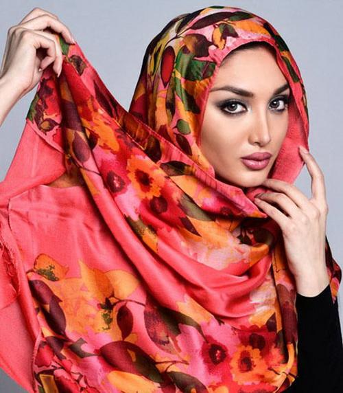 روسری را براساس رنگ پوست تان انتخاب کنید