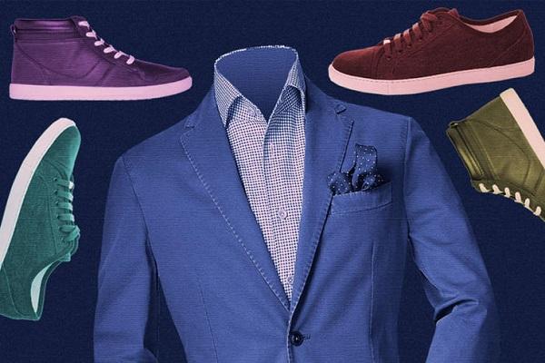11 مدل کتانی مناسب برای پوشیدن با کت و شلوار