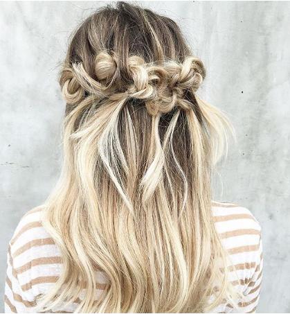 مدل موی بافته مناسب همه ی موقعیت ها