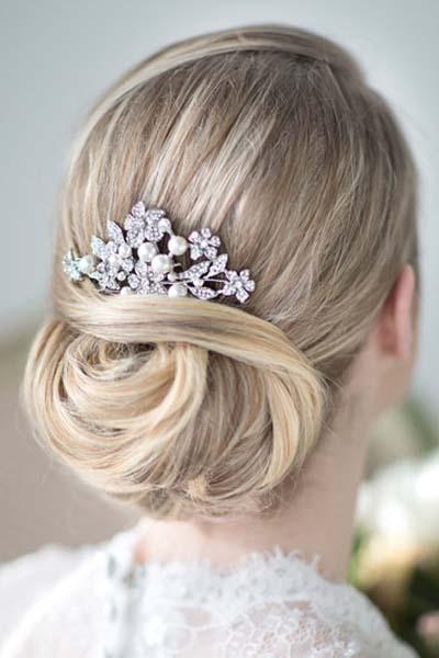 تور و اکسسوریهای مو برای عروس