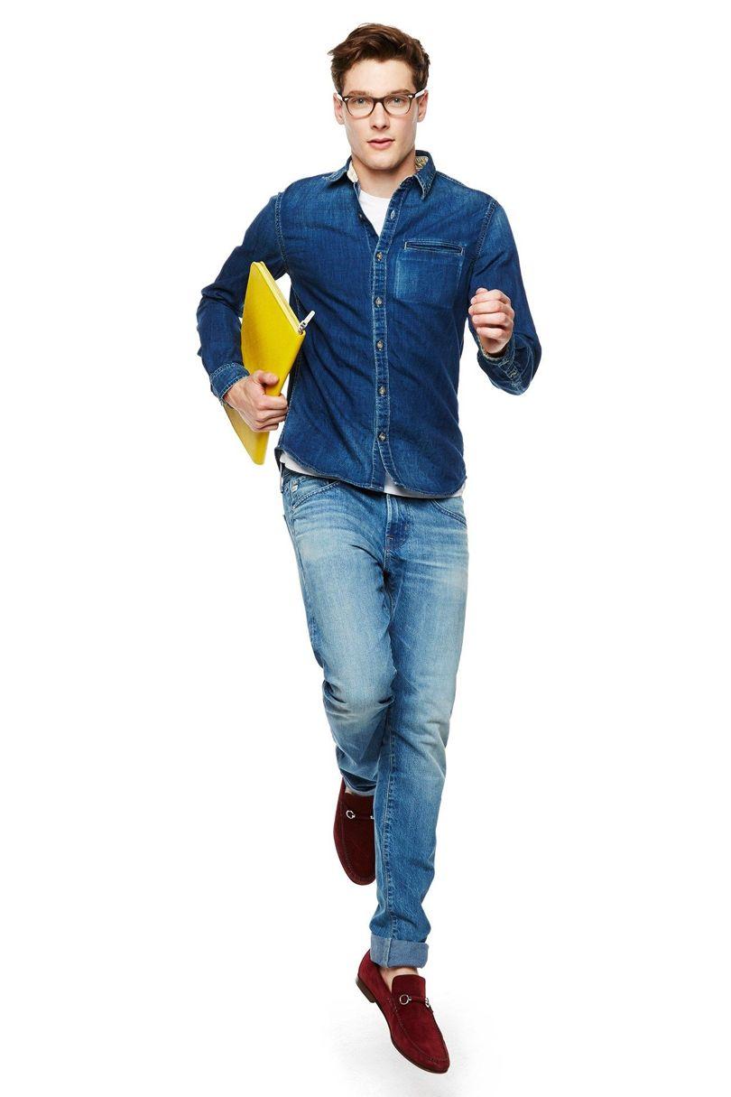 آقایان: راه و رسم پوشیدن جین