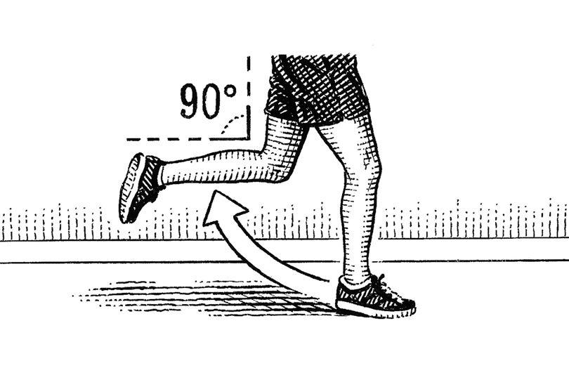رسیدن به تناسب اندام با صحیح دویدن