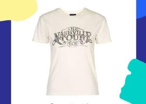تی شرت زنانه مجلسی و روش ست کردن آن