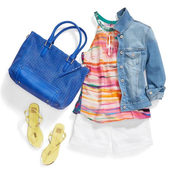 نحوه ست کردن رنگ لباس در تابستان