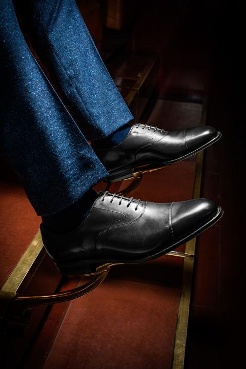 کفش رسمی مردانه Cap-Toe Oxfords