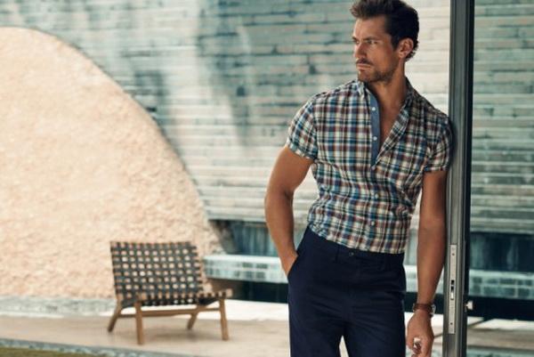 حضور دیوید گندی در تبلیغات Marks & Spencer