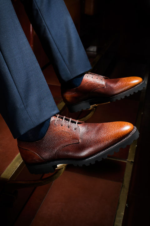 کفش رسمی مردانه Plain-Toe Derbies