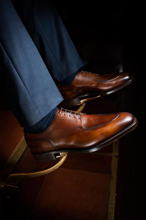 کفش رسمی مردانه Split-Toe Derbies