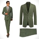 بهترین استایل ها با کت و شلوار سبز