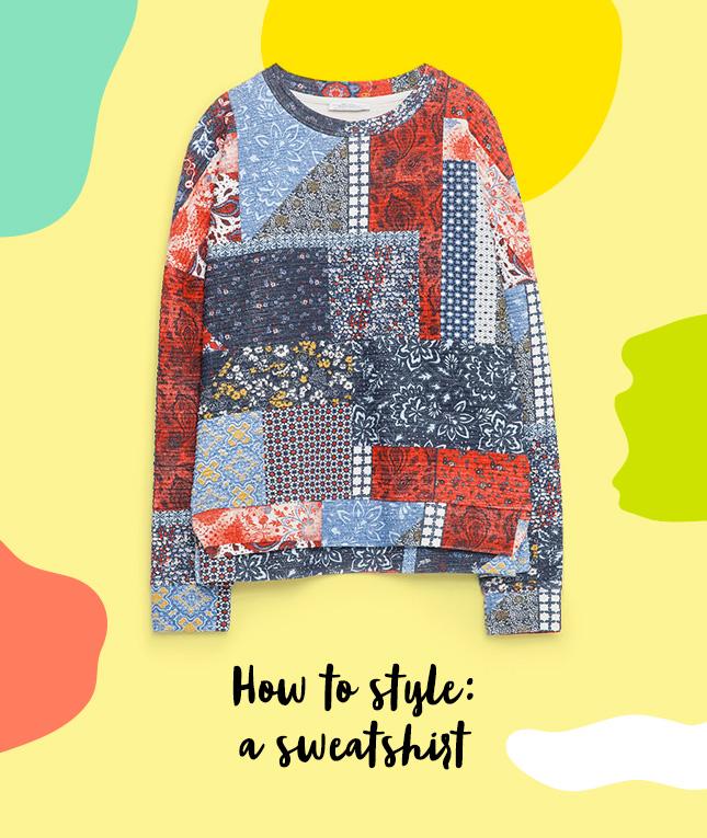 3 روش پوشیدن سوییشرت برای عکس های اینستاگرامی