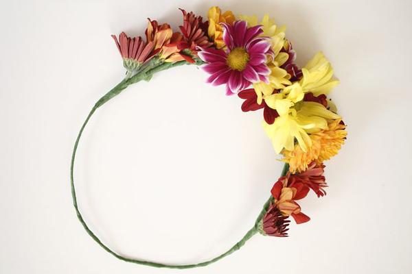 آمورش ساخت تل با گل های طبیعی