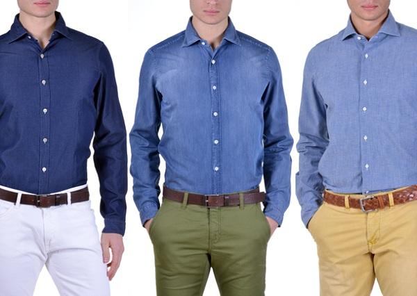 پیراهن مردانه ضد چروک رنگی