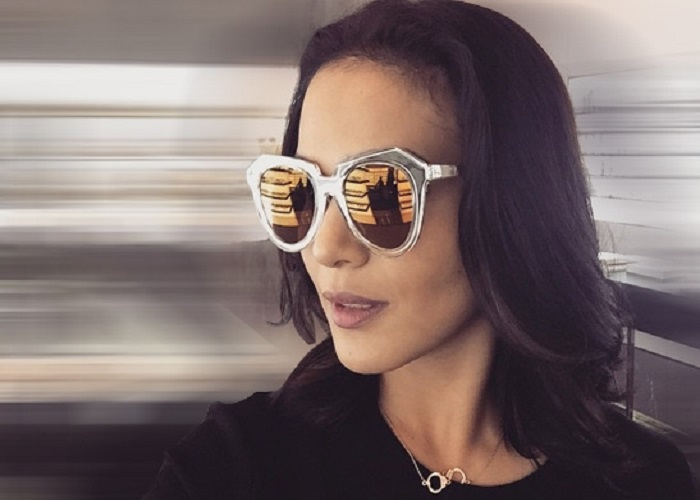 عینک آفتابی کارن واکر بر چشمان مشاهیر