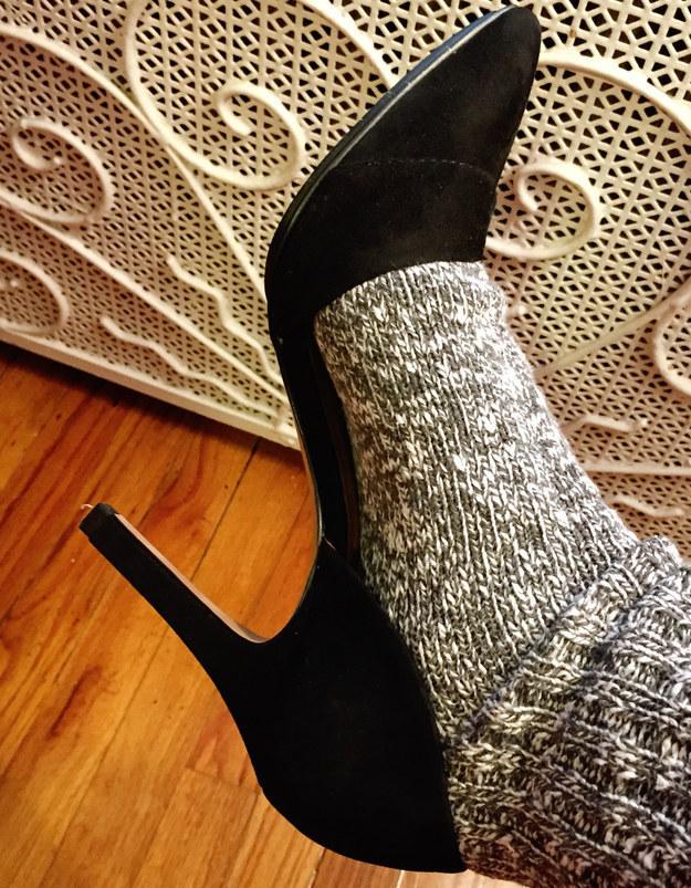 راه های جالب و ساده برای راحت کردن کفش ها !