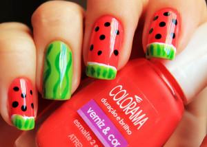 مانیکورهای میوهای ایده ای برای تابستان