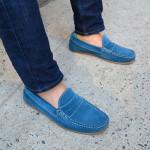 کفش کالج را بدون جوراب بپوشید