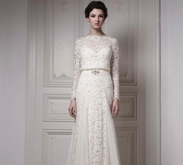 ۴ مدل لباس عروس در سال جدید