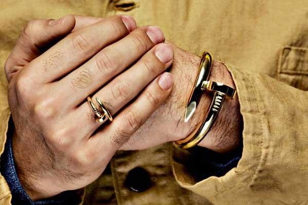 دستبند مردانه فلزی