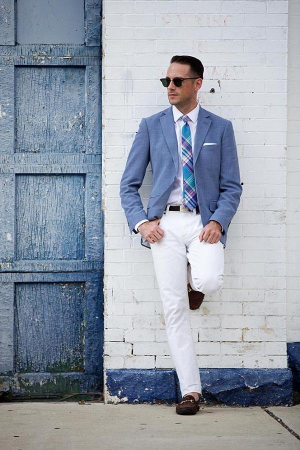 8 تیپ مختلف با شلوار جین سفید