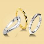 ۲۷ مدل حلقه ی ازدواج برای زوج های با سلیقه
