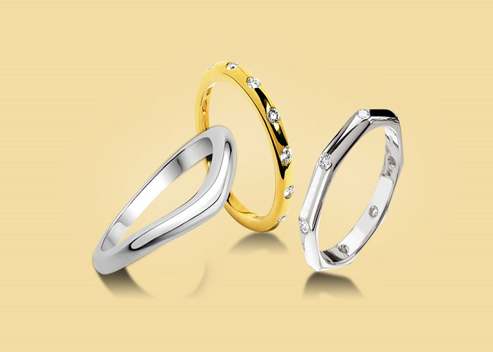 ۲۷ مدل حلقه ازدواج برای زوج های با سلیقه