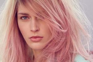رنگ موی رز گلد در اینستاگرام