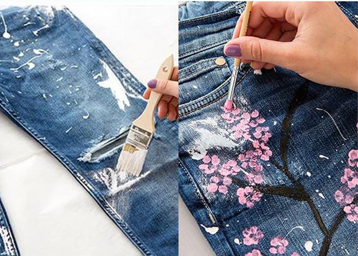 راهکاری ساده برای استفاده از شلوار جین قدیمی