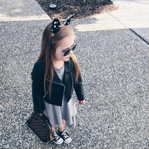 دختر بچه خوشتیپ و معروف در اینستاگرام