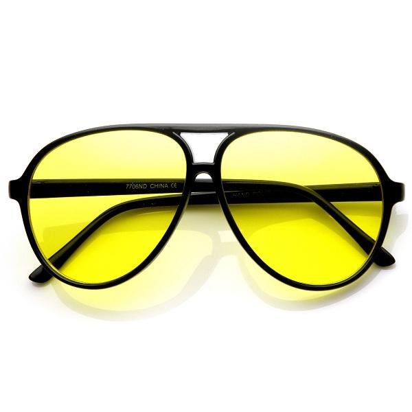 تیپ زنانه شیک با ترکیب رنگ زرد