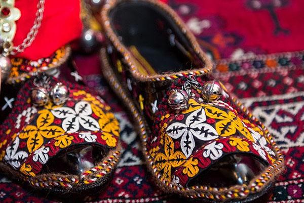 پوشش بانوان ترکمن