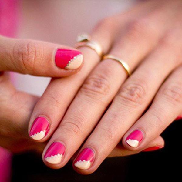 ایده های طراحی ناخن برای عروس