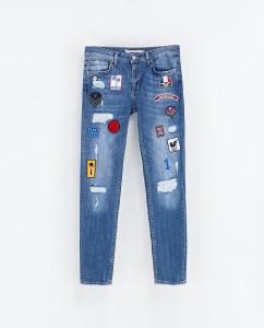 چطور روی شلوار جین تکه دوزی کنم؟