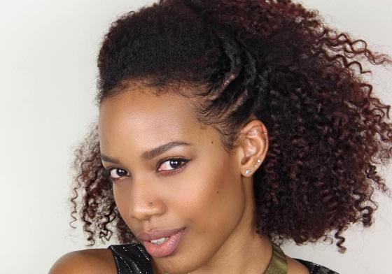 ایده ی مدل مو برای موهای موج دار