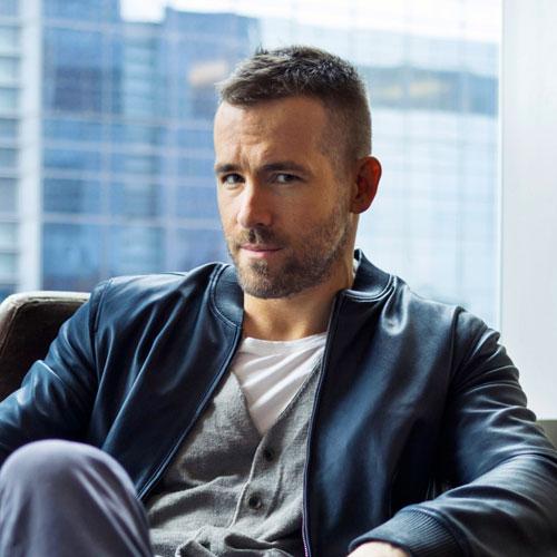 مدل مو مردانه به سبک رایان رینولدز