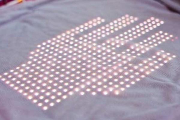 tshirtOS یک تیشرت قابل برنامه ریزی