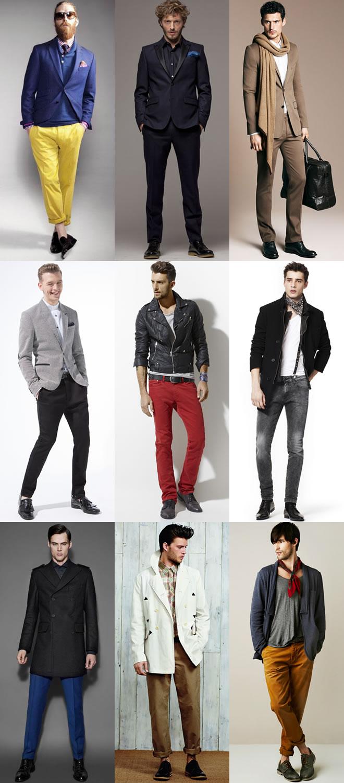 ترکیب رنگ کفش مردانه